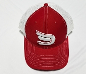 Snap Back Red White Signature Dynasty Sportswear Cap