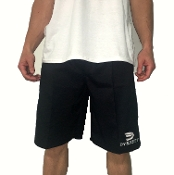 Men's Microfiber Shorts (Black)