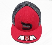 Fitted Charcoal/Red/Black Signature Ball Cap