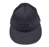 Fitted Black on Black Dynasty Sportswear Signature Ball Cap