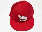 Fitted Red/White Dynasty Sportswear Signature Ball Cap
