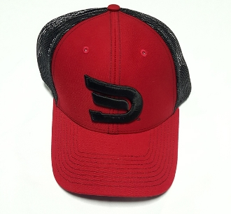 Snap Back Red Black Signature Dynasty Sportswear Cap