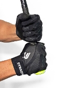 Batting Gloves - Pro Series Black On Black