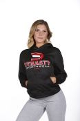 Women's Performance Fleece Hoodie (Black)