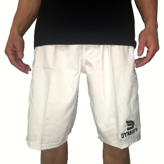 Men's Microfiber Shorts (White)