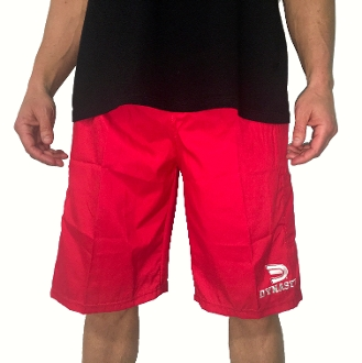 Men's Microfiber Shorts (Red)